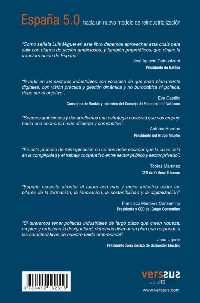 Testimonios España 5.0, hacia un nuevo modelo de reindustrialización